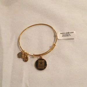 Alex and Ani U.S. ARMY bracelet